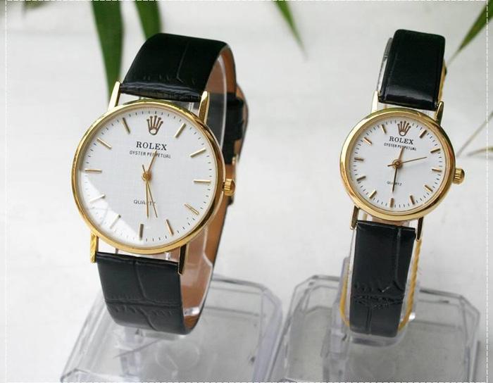 Khám phá thương hiệu đồng hồ Rolex nữ dây da chính hãng